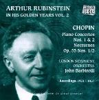 Arthur Rubinstein In His Golden Years Vol 2 - Chopin