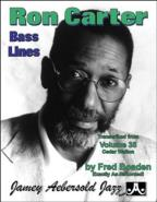 Ron Carter Bass Lines - Transcribed From Volume 35