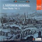 Hummel: Piano Works Vol. 1