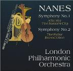 Nanes: Symphonies no 1 & 2 / Keith Clark, London PO