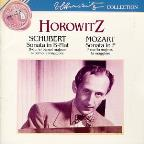 Schubert: Sonata in Bb; Mozart: Sonata in F / Horowitz
