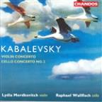 Kabalevsky: Violin Concerto; Cello Concerto