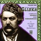 Glinka: Complete Songs and Romances, Vol. 1