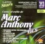 Latin Stars Karaoke: Marc Anthony, Vol. 5