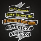 Some Memories Just Won't Die (In The Style Of Marty Robbins) [karaoke Version] - Single
