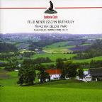Mendelssohn: Variations Concertantes for Cello & Piano; Sonatas for Cello & Piano