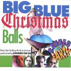 Big Blue Christmas Balls