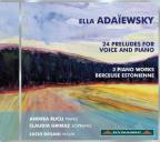 Ella Ada&#239;ewsky: 24 Preludes for Voice and Piano