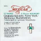 Handel: Messiah / Woodside, Oratorio Society of New York
