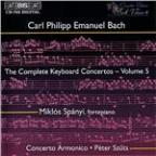 C.P.E. Bach: The Complete Keyboard Concertos, Vol. 5