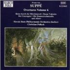 Suppé: Overtures Vol 6 / Christian Pollack, Slovak State PO