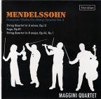 Mendelssohn: Complete Works for String Quartet, Vol. 2