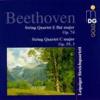 Beethoven: String Quartet E flat major, Op.74; String Quartet C major, Op.59/3