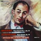 Brahms: Piano Quartet No. 1, Op. 25; Schumann: Piano Quintet in E flat major, Op. 44