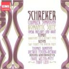 Schreker: Chamber Symphony; Schmidt: Variations on a Hussar's Song; Busoni: Studies from Faust