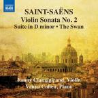 Saint-Saens: Violin Sonata No. 2; Suite in D minor; The Swan