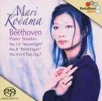 "Beethoven: Piano Sonatas No. 14 ""Moonlight"", No. 8 ""Pathetique"", No. 4 in E flat, Op. 7"