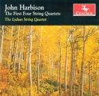 John Harbison: The First Four String Quartets