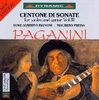 Paganini: Centone Di Sonate For Violin And Guitar, Vol. 3