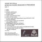 African Audio Research Program, Vol. 1