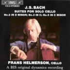 Bach: Three Suites for Solo Cello