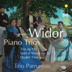 Widor: Trio, Op. 19; Soirs d'Alsace, Op. 52; 4 Pieces (1890)