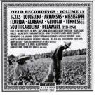 Field Recordings, Vol. 13: 1933 - 1943