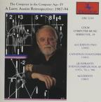 Composer In The Computer Age, Vol. 4: A Larry Austin Retrospective, 1967-94