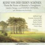 Songs Of Fanny Mendelssohn