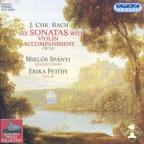 Six Sonatas With Violin Accomp