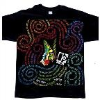 Butterfly Swirl Slim Fit T-Shirt Black