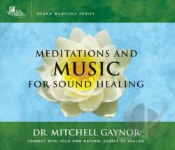 Meditations and Music for Sound Healing CD Cover Art