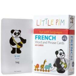 Vol. 1 - French Word & Phrase Cards (Flashcards) BK Cover Art
