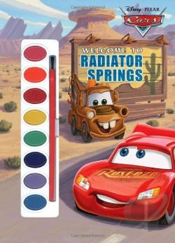 Welcome Radiator Springs BK Cover Art
