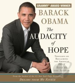 Audacity of Hope - Thoughts on Reclaiming the American Dream CD Cover Art