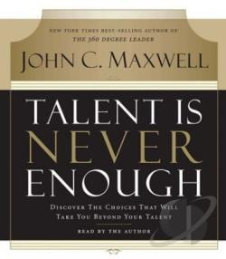 Talent Is Never Enough CD Cover Art