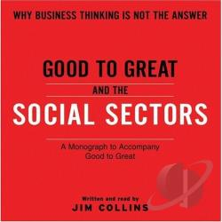 Good to Great and the Social Sectors CD Cover Art