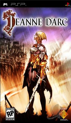 Jeanne d'Arc PSP Cover Art