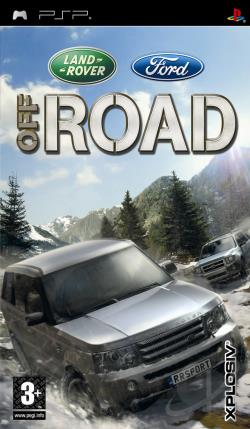Ford Racing Off Road PSP Cover Art