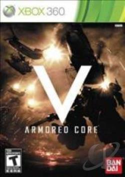 Armored Core V XB360 Cover Art