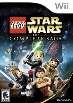 Lego Star Wars: Complete Saga WII Cover Art