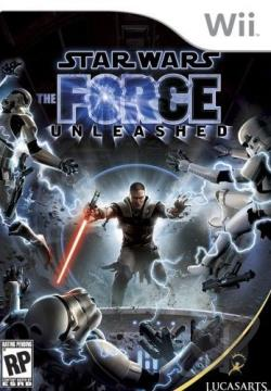Star Wars: The Force Unleashed WII Cover Art
