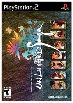 Unlimited Saga PS2 Cover Art