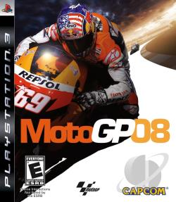 MotoGP 08 PS3 Cover Art