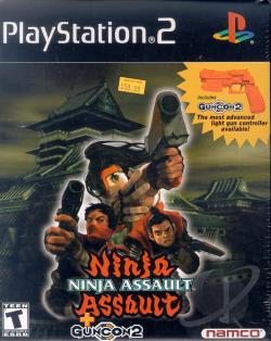 Ninja Assault PS2 Cover Art