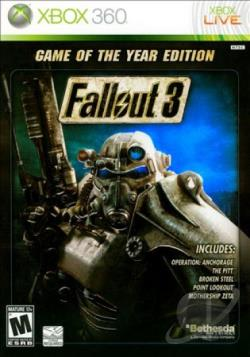 Fallout 3: Game of the Year Edition XB360 Cover Art
