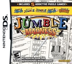 Jumble Madness NDS Cover Art