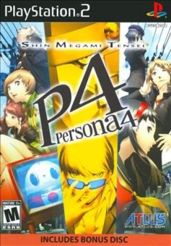 Shin Megami Tensei: Persona 4 PS2 Cover Art