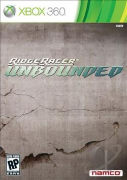 Ridge Racer Unbounded PS3 Cover Art