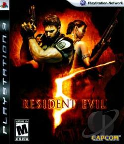Resident Evil 5 PS3 Cover Art
